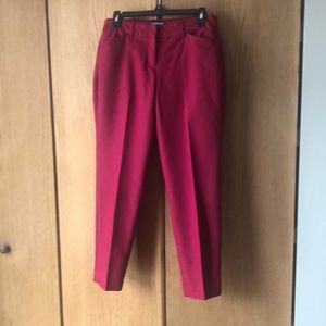 Soft, sateen ankle pants